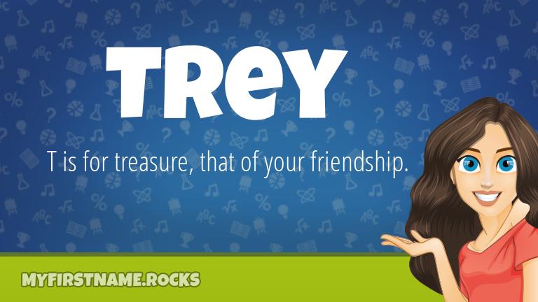 My First Name Trey Rocks!
