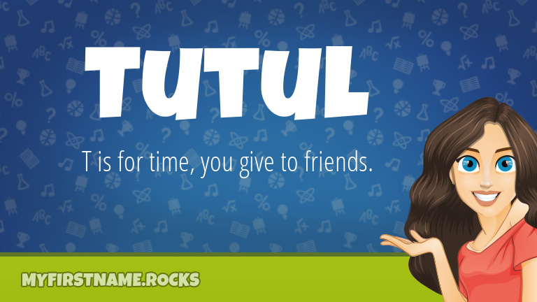My First Name Tutul Rocks!