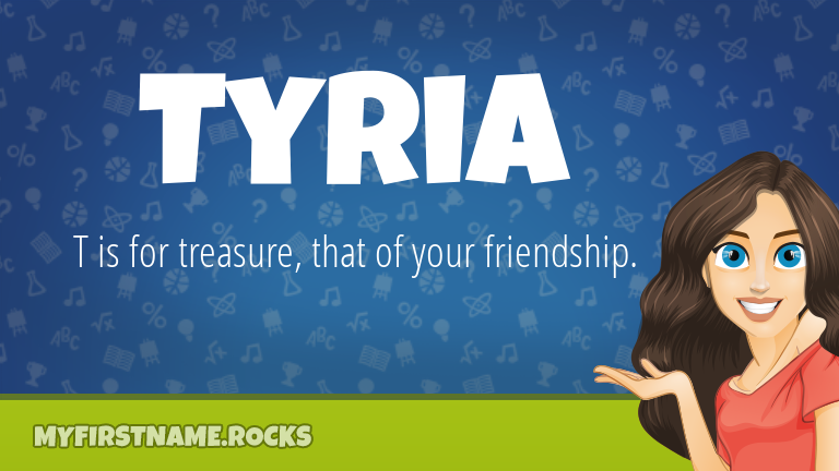 My First Name Tyria Rocks!