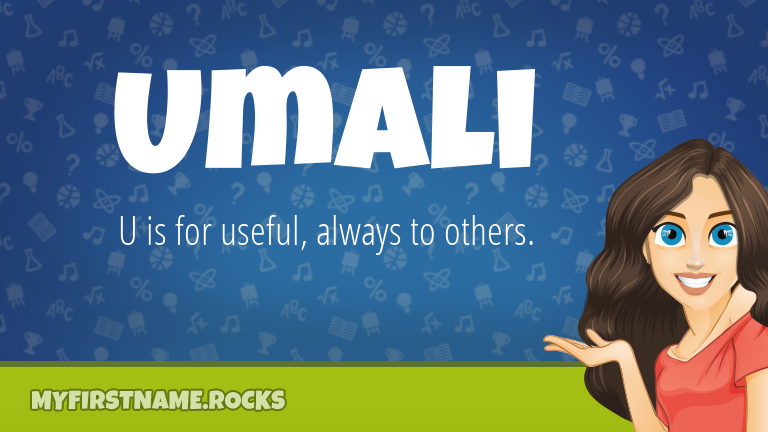 My First Name Umali Rocks!