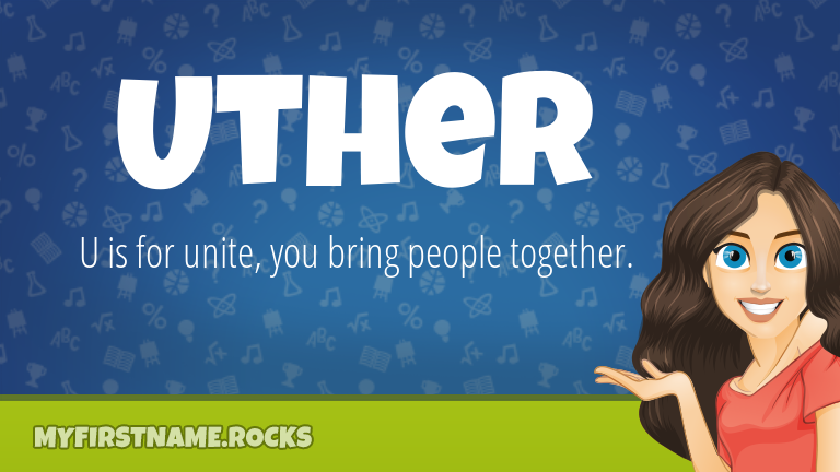My First Name Uther Rocks!