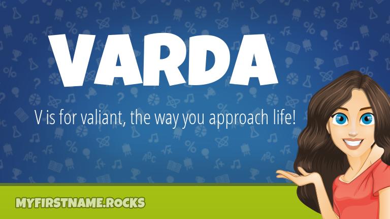 My First Name Varda Rocks!