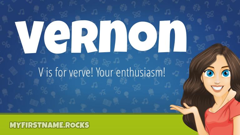 My First Name Vernon Rocks!