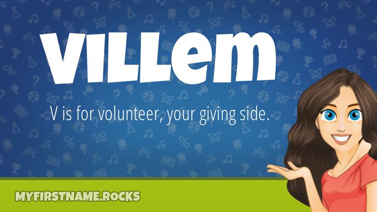 My First Name Villem Rocks!