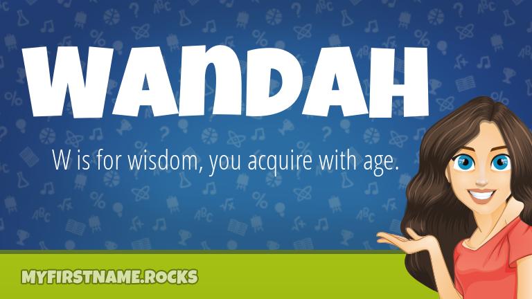 My First Name Wandah Rocks!