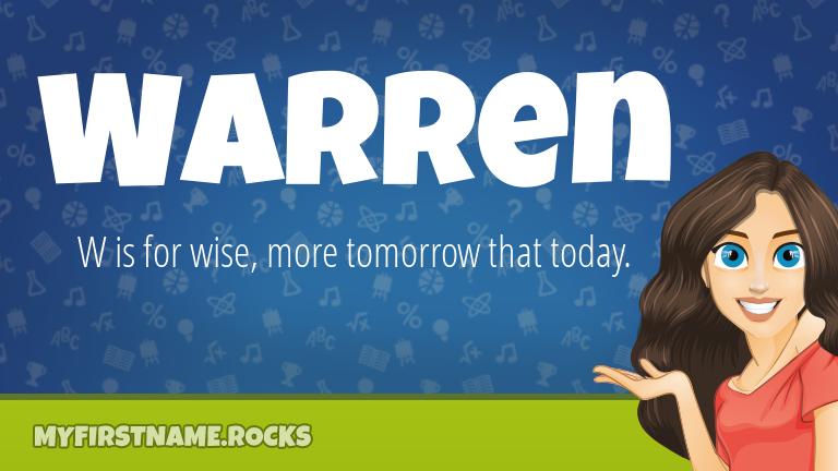 My First Name Warren Rocks!