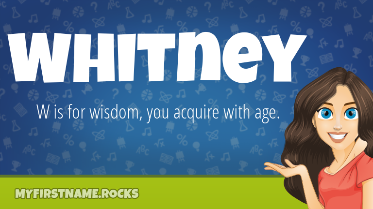 My First Name Whitney Rocks!