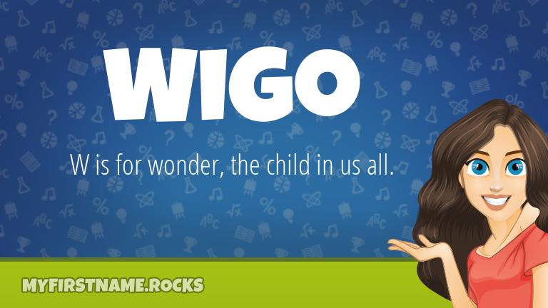 My First Name Wigo Rocks!