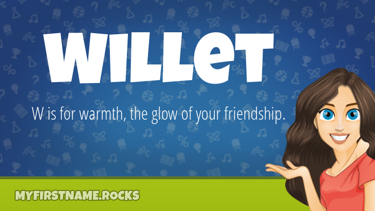 My First Name Willet Rocks!