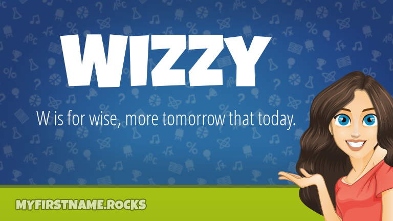 My First Name Wizzy Rocks!