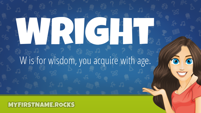 My First Name Wright Rocks!