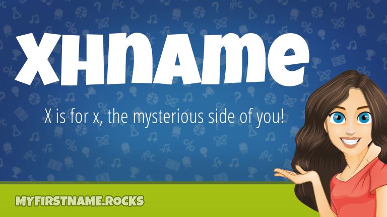 My First Name Xhname Rocks!