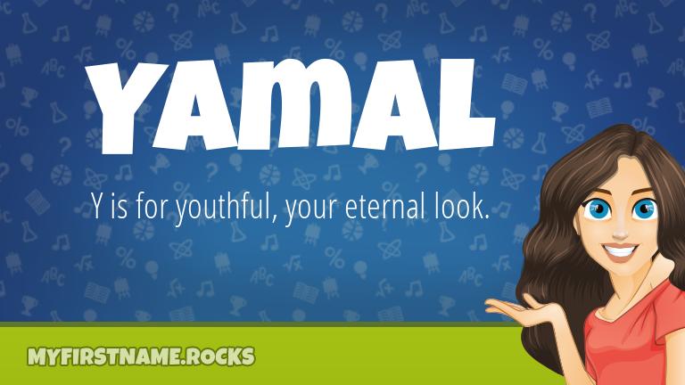 My First Name Yamal Rocks!