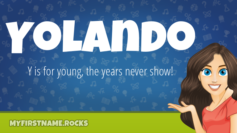 My First Name Yolando Rocks!