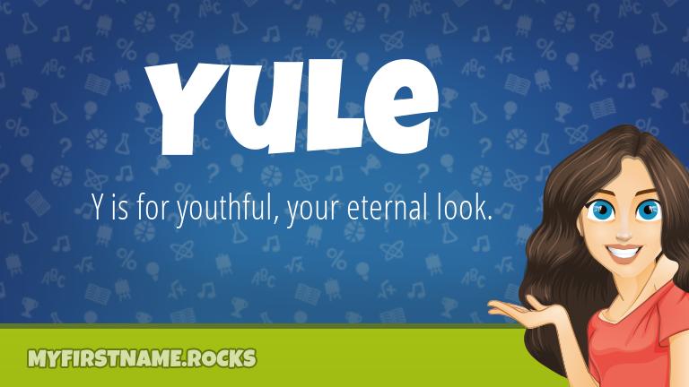 My First Name Yule Rocks!