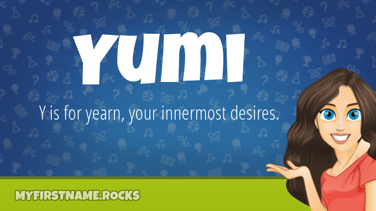 My First Name Yumi Rocks!