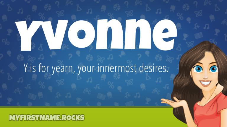 My First Name Yvonne Rocks!