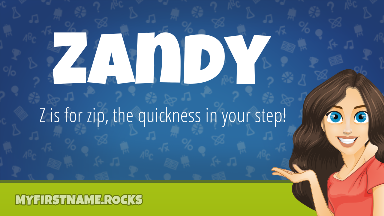 My First Name Zandy Rocks!