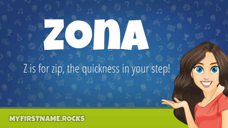 My First Name Zona Rocks!