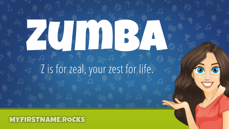 My First Name Zumba Rocks!