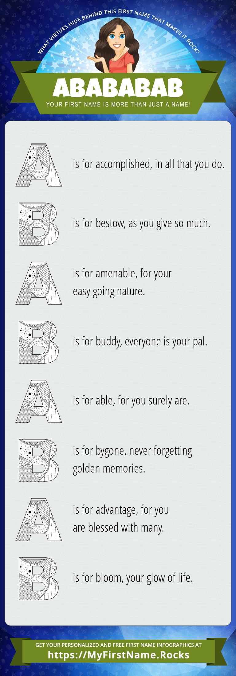 Abababab Infographics