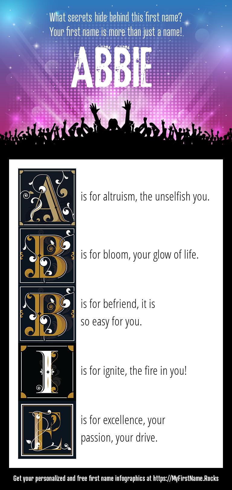 Abbie Infographics