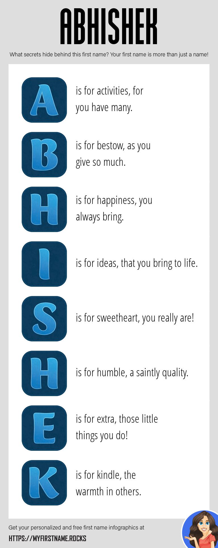 Abhishek Infographics