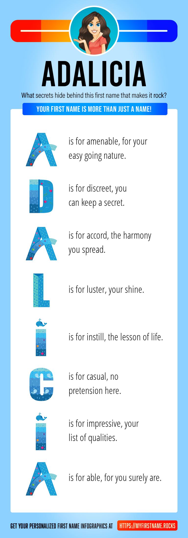 Adalicia Infographics