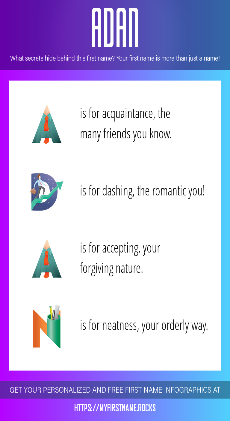 Adan Infographics