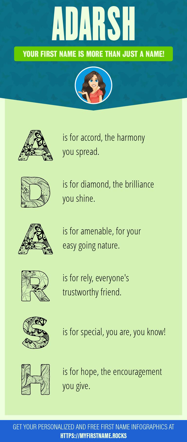 Adarsh Infographics
