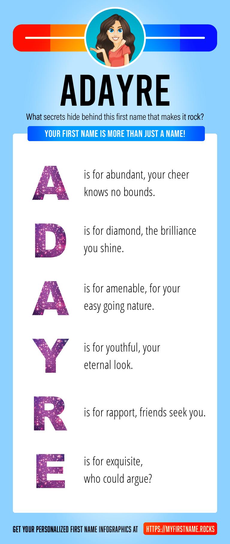 Adayre Infographics