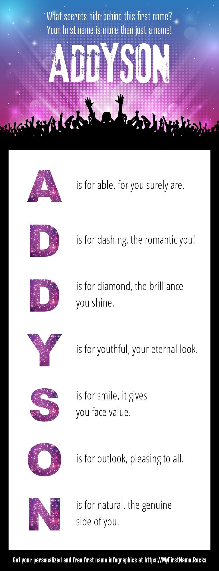 Addyson Infographics