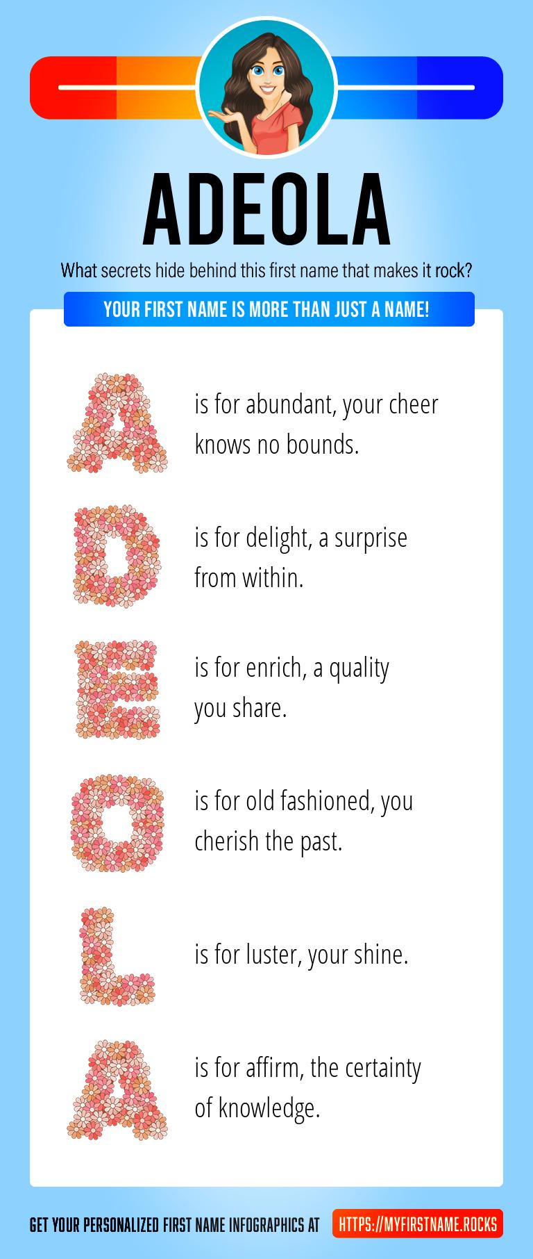 Adeola Infographics
