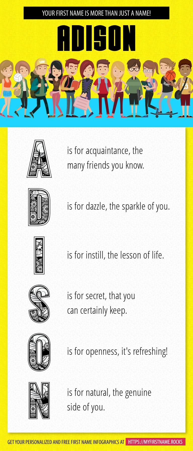 Adison Infographics