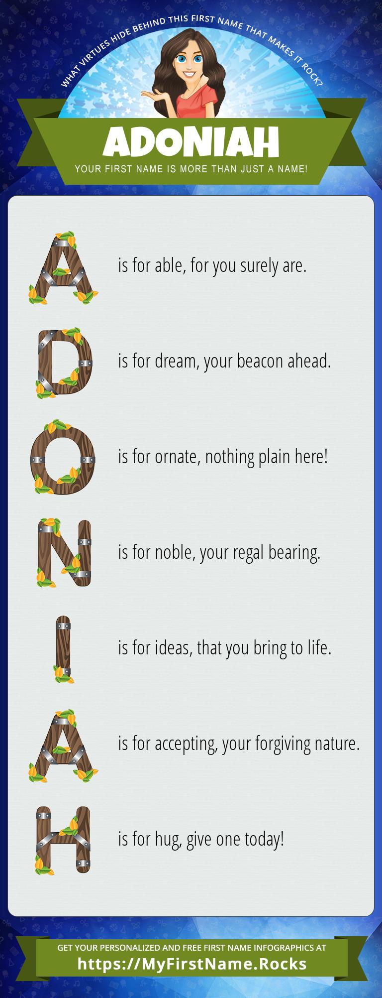 Adoniah Infographics