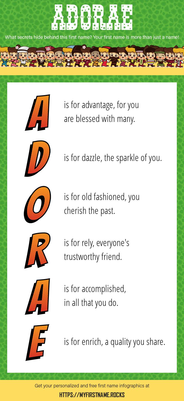 Adorae Infographics