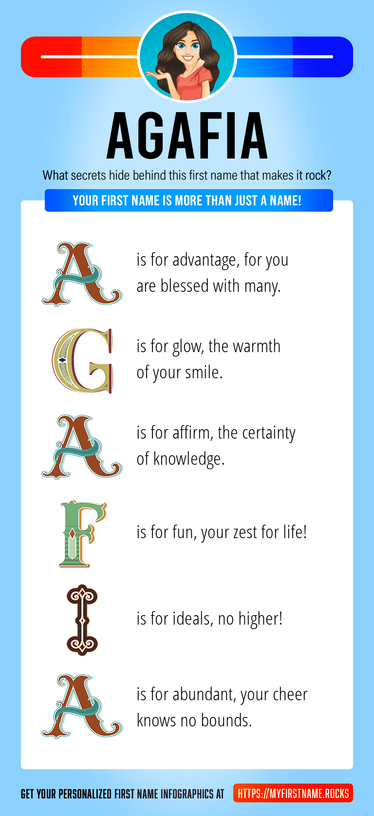 Agafia Infographics