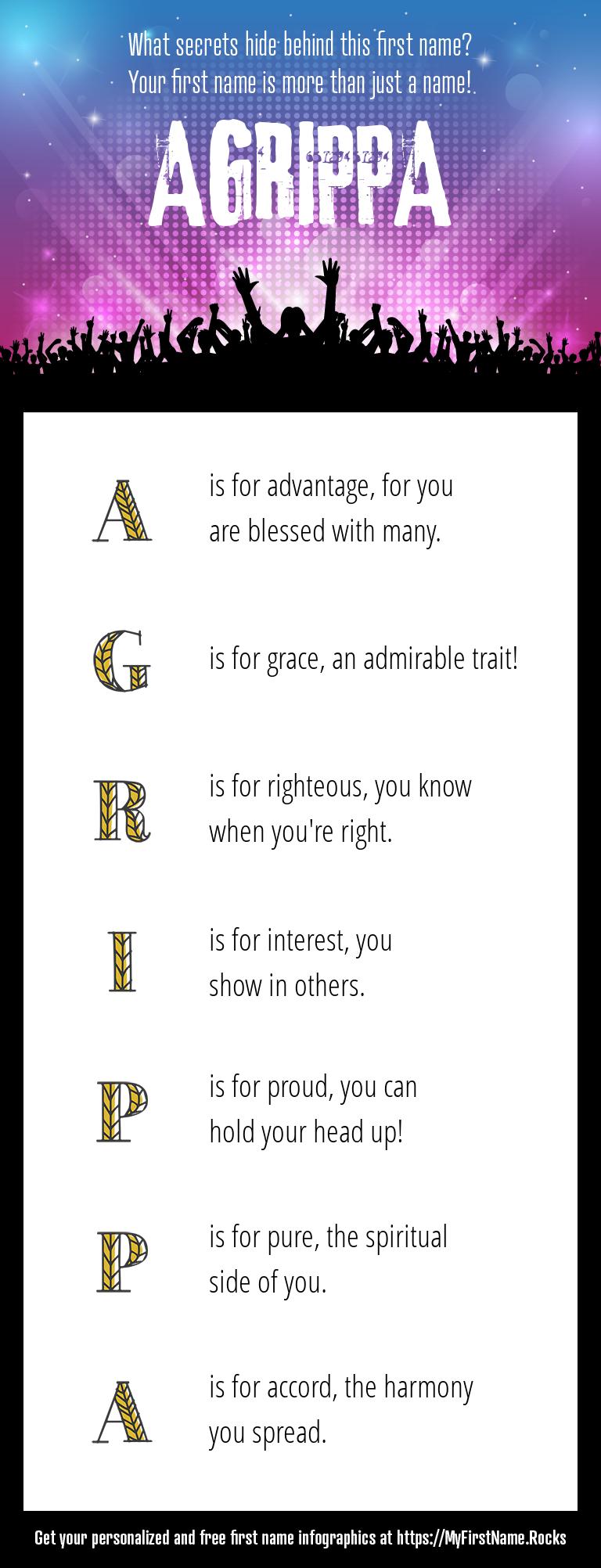 Agrippa Infographics