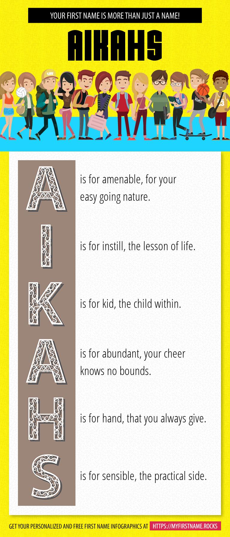 Aikahs Infographics