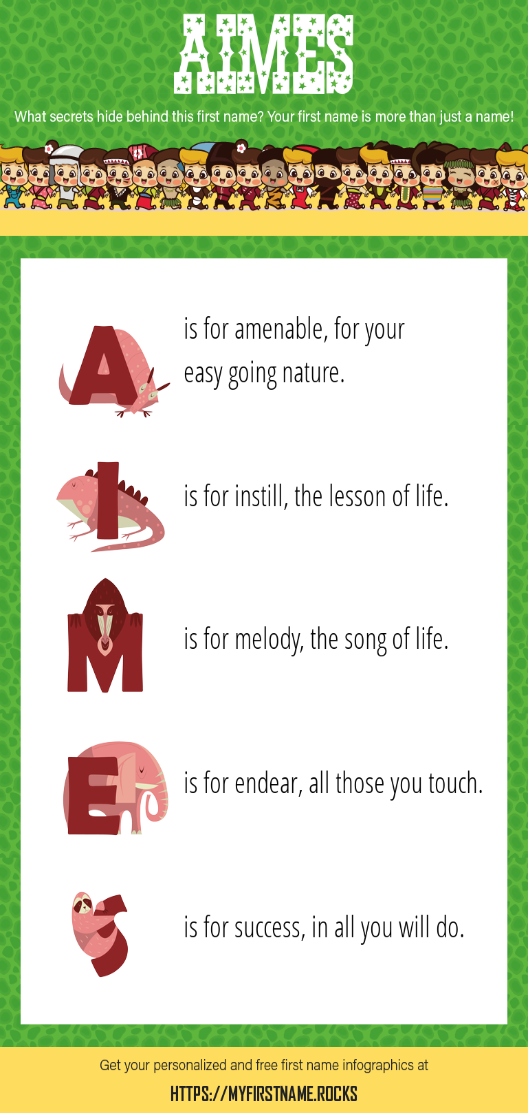 Aimes Infographics