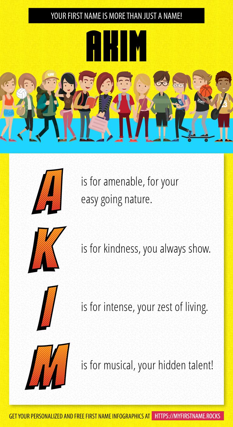 Akim Infographics