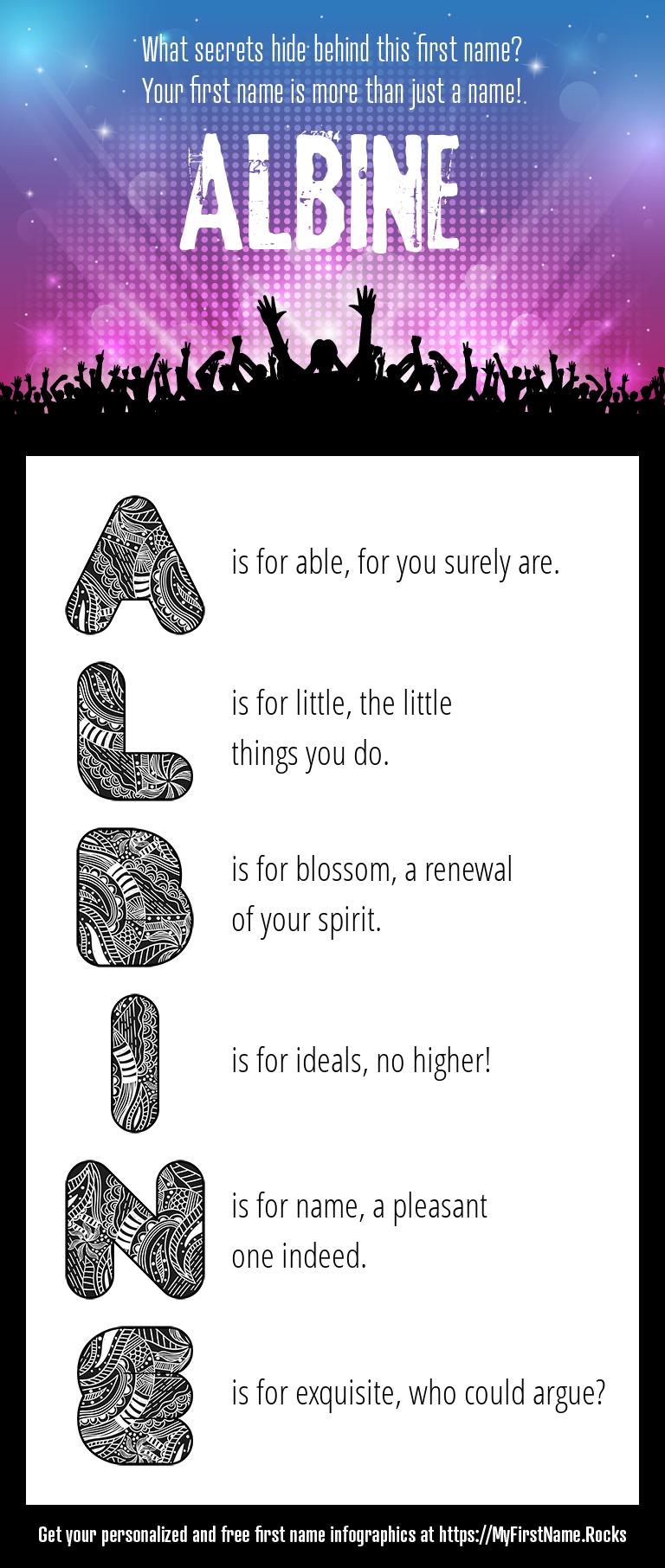 Albine Infographics
