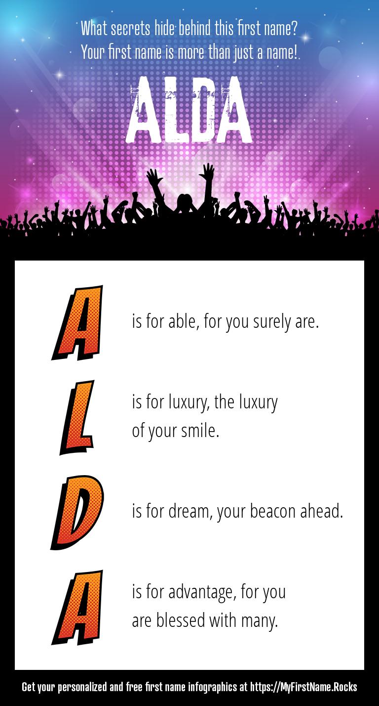 Alda Infographics