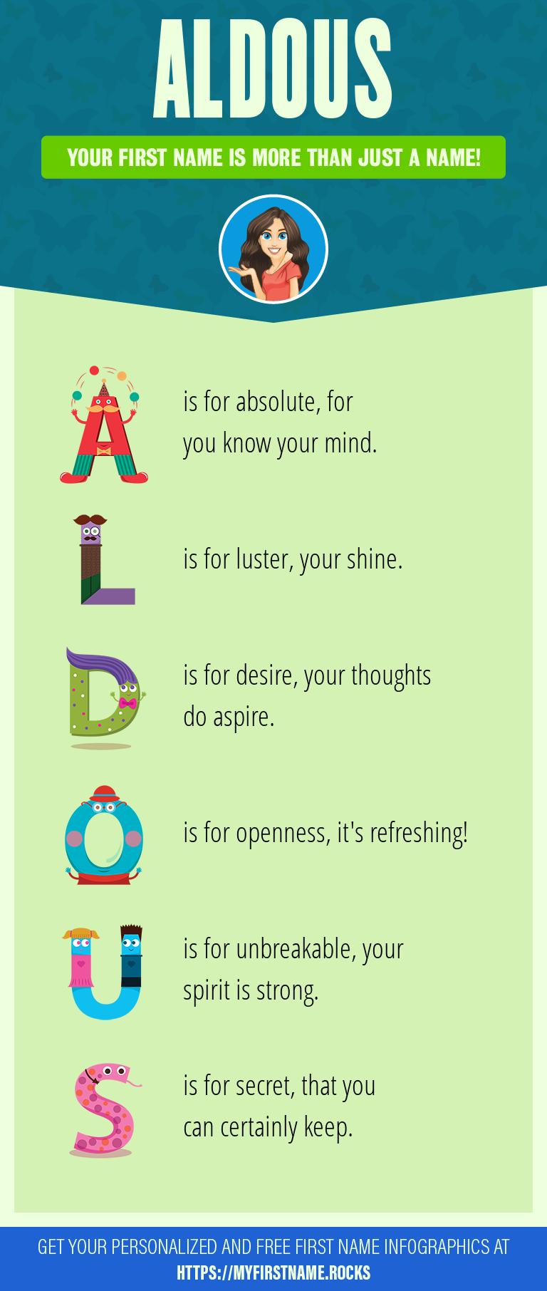 Aldous Infographics