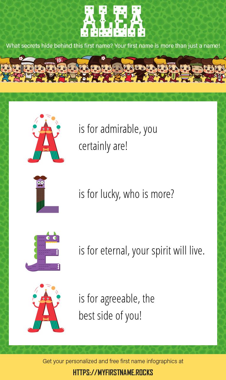 Alea Infographics