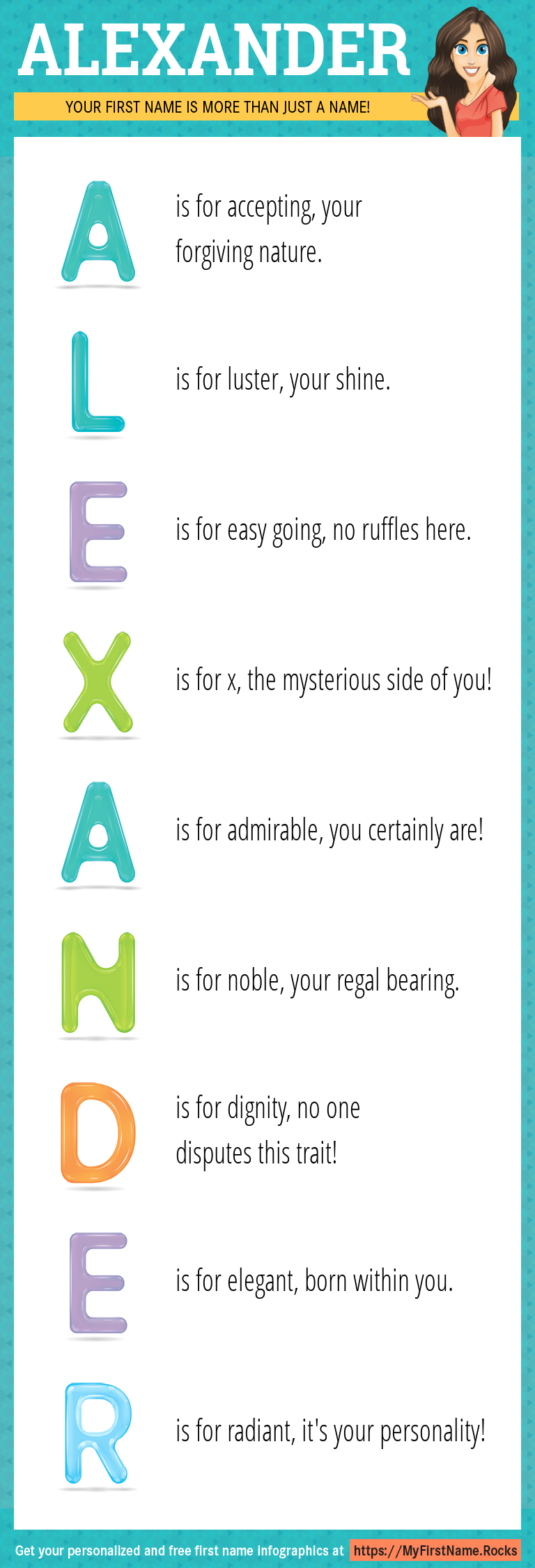 Alexander Infographics