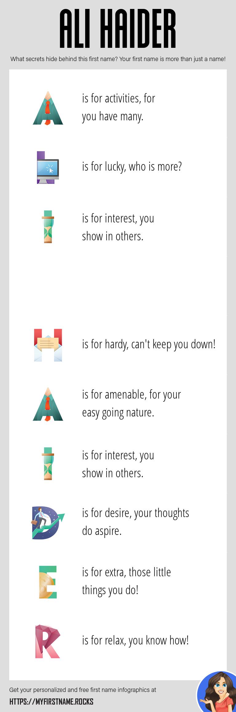 Ali Haider Infographics