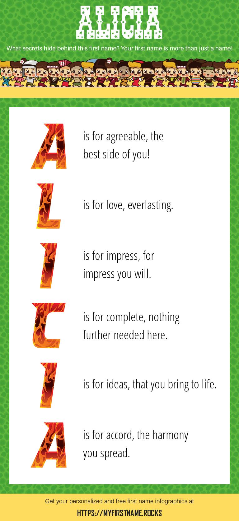 Alicia Infographics