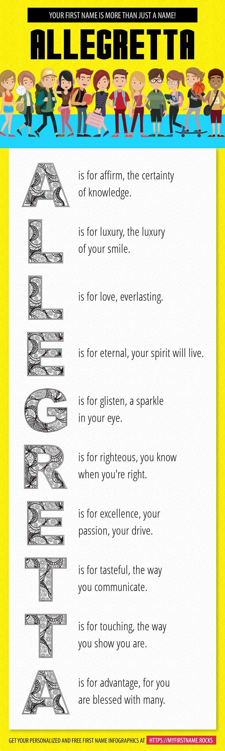 Allegretta Infographics