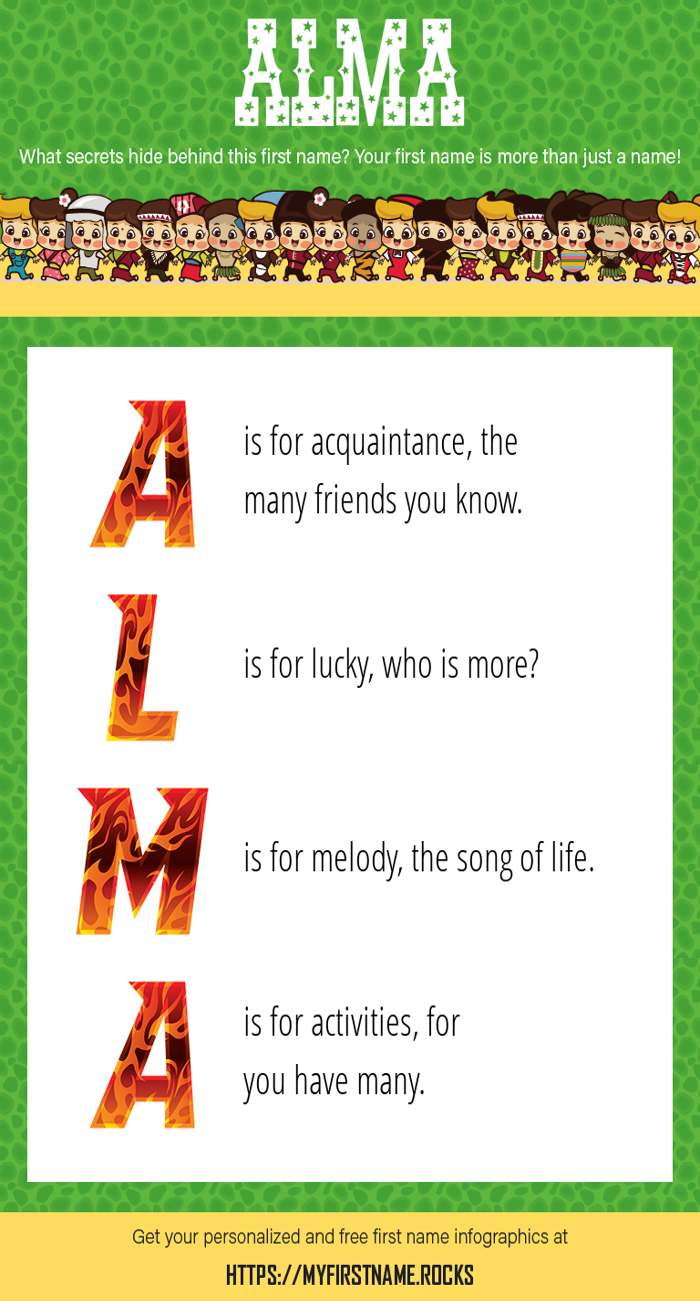 Alma Infographics